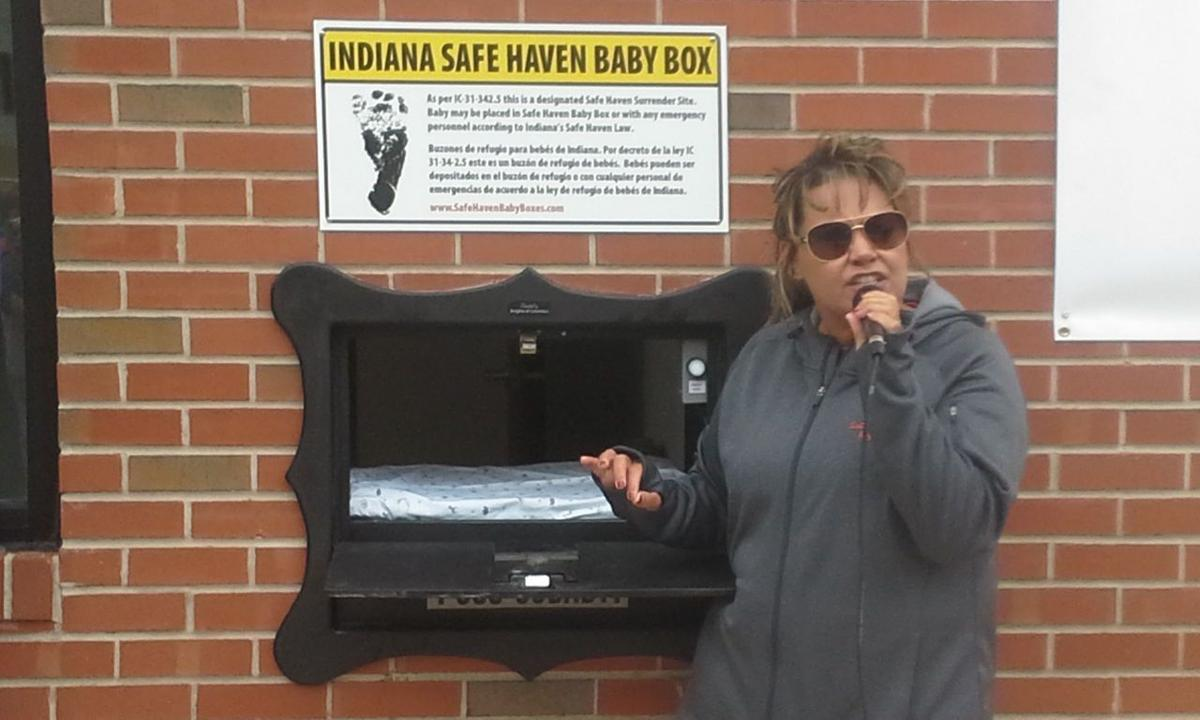 Safe Haven Baby Box Installed In Laporte Co Fire Station