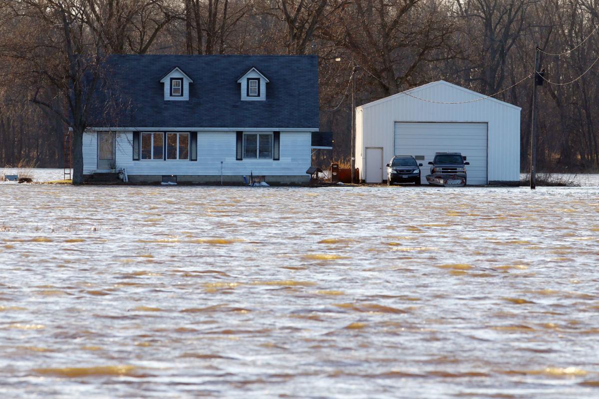 Kankakee River flooding in 2018