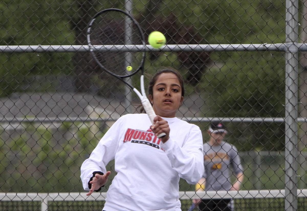 Highland Girls Tennis Regional Semifinals