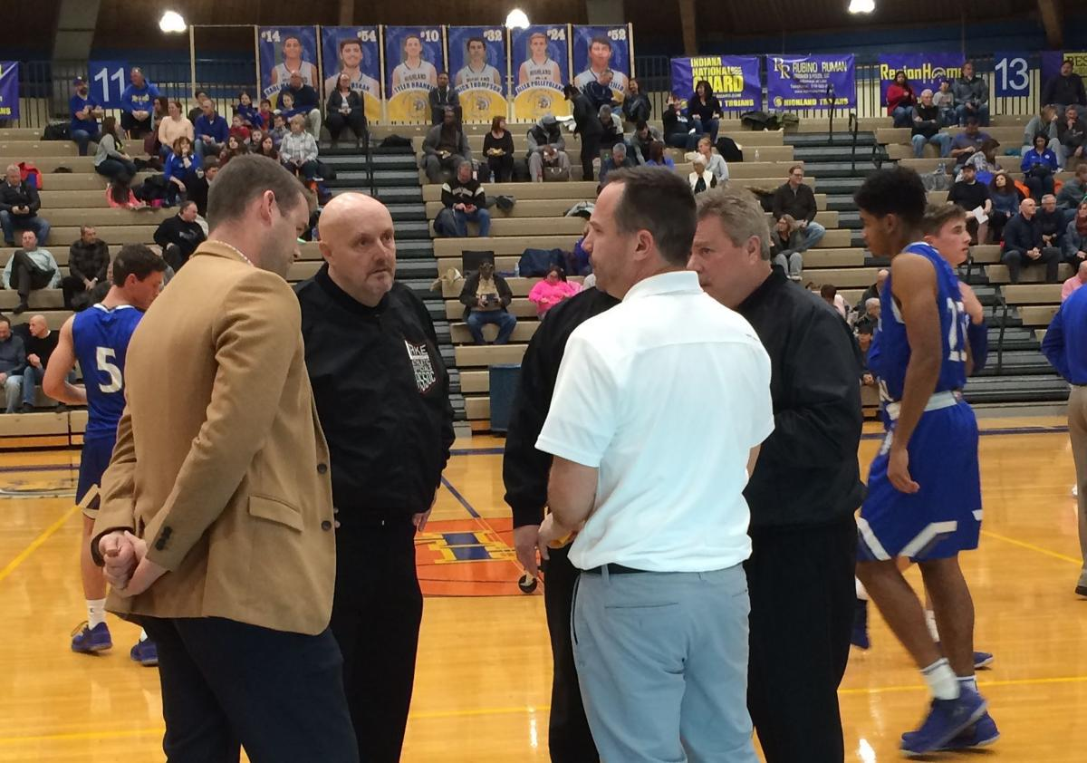 Lake Central travels to rival Highland in boys hoops
