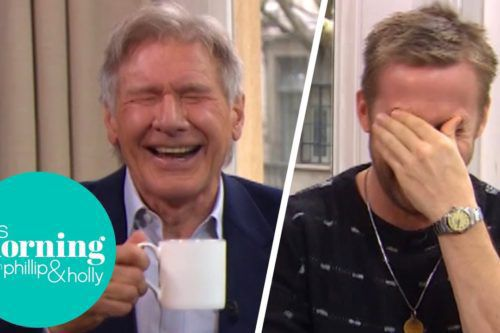 Harrison Ford And Ryan Gosling Could Not Stop Giggling During This Interview—and Their Laughter Is Contagious