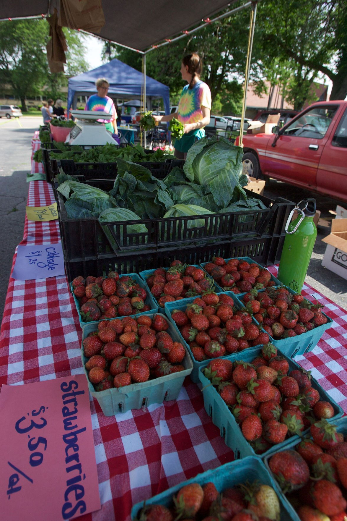 Indiana lake county highland - Farmers Market In Highland Always A Crowd Pleaser