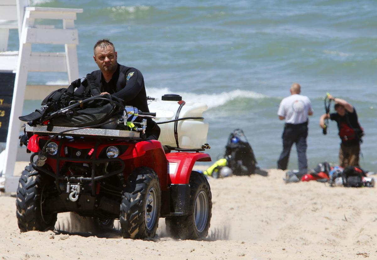 Water Rescue at Dunes