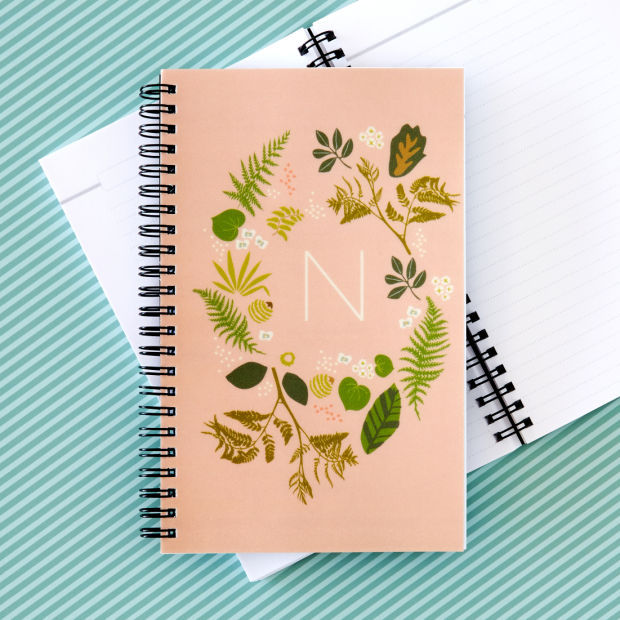 Back to School-Personalized Notebooks