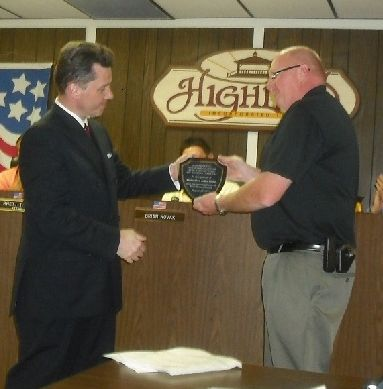 Police detective honored for housing fraud investigation