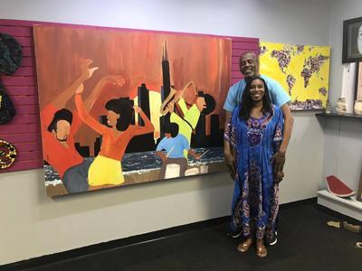 Merrillville art gallery exhibiting work of Illinois painter