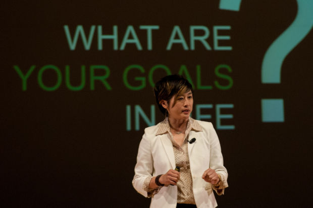 Delivering Happiness CEO Jenn Lim speaks at Sinai Forum