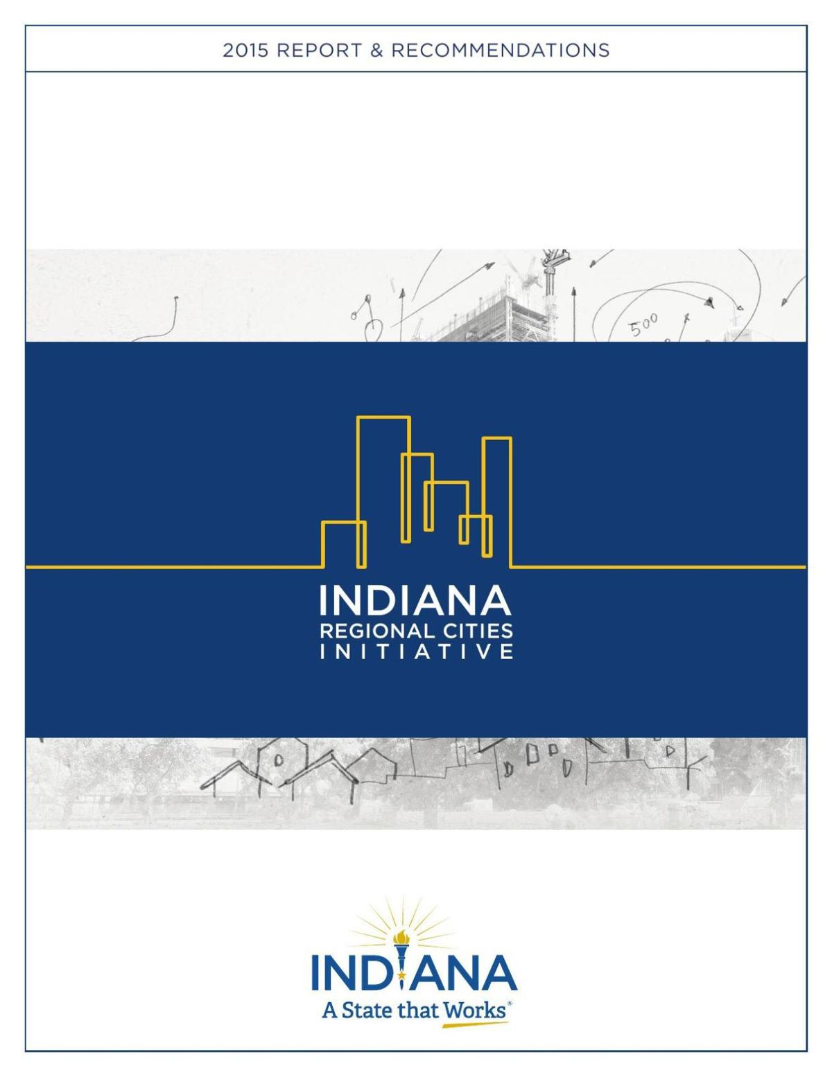 Recommendations and report of Regional Cities Strategic Review Committee