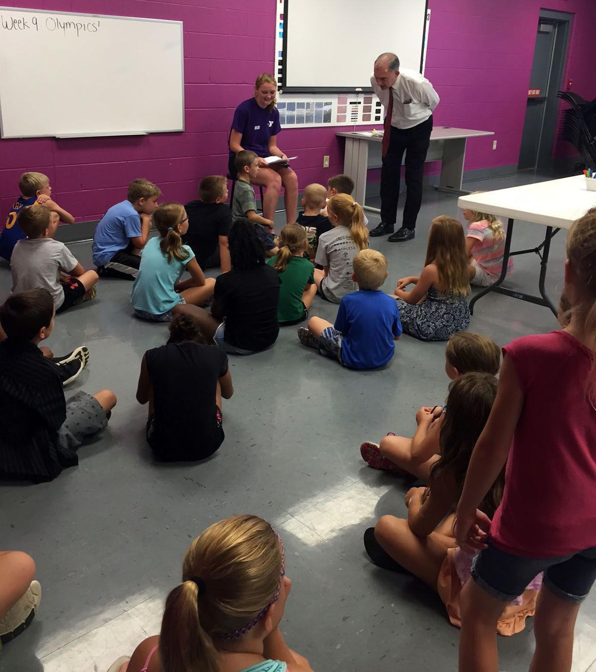 Ymca Youth Camps: Congressman Visclosky Visits Southlake Family YMCA Summer