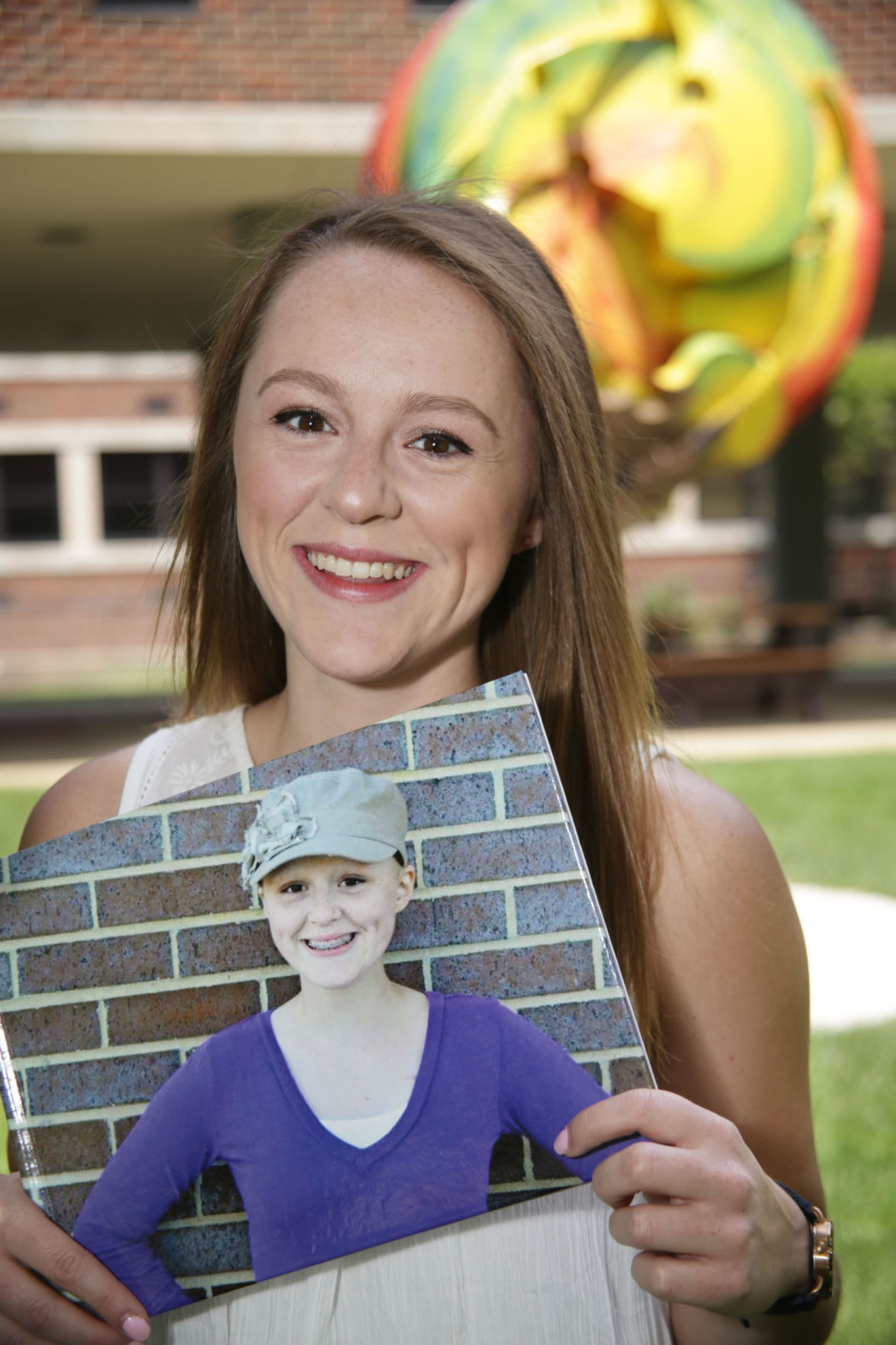 Battle with leukemia as teen fans Purdue Northwest student's desire to give back