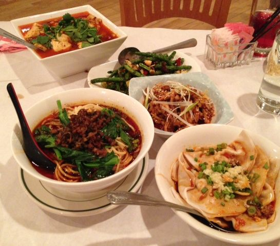 Sichuan fare