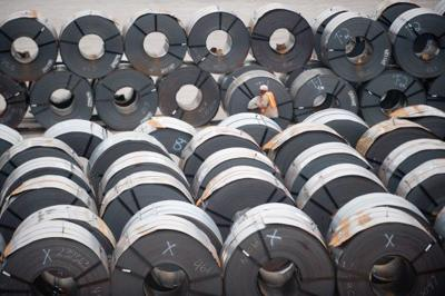 Steel production up by 5.2 percent so far this year