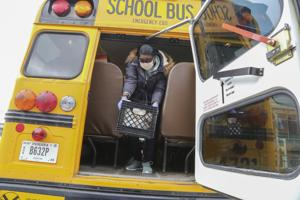 Benefit program to help families of students who received free or reduced school lunch