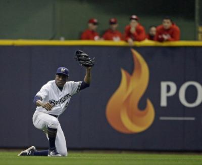 Marlins Granderson Baseball
