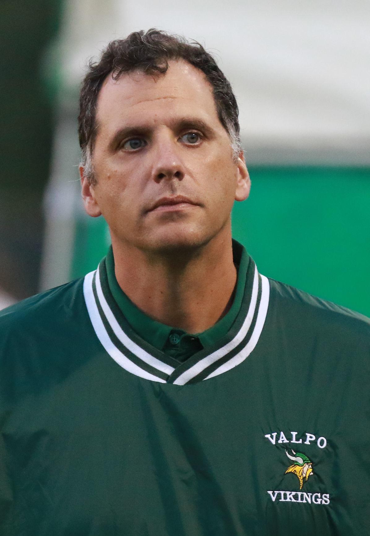 Valparaiso girls soccer coach Rob Cespedes