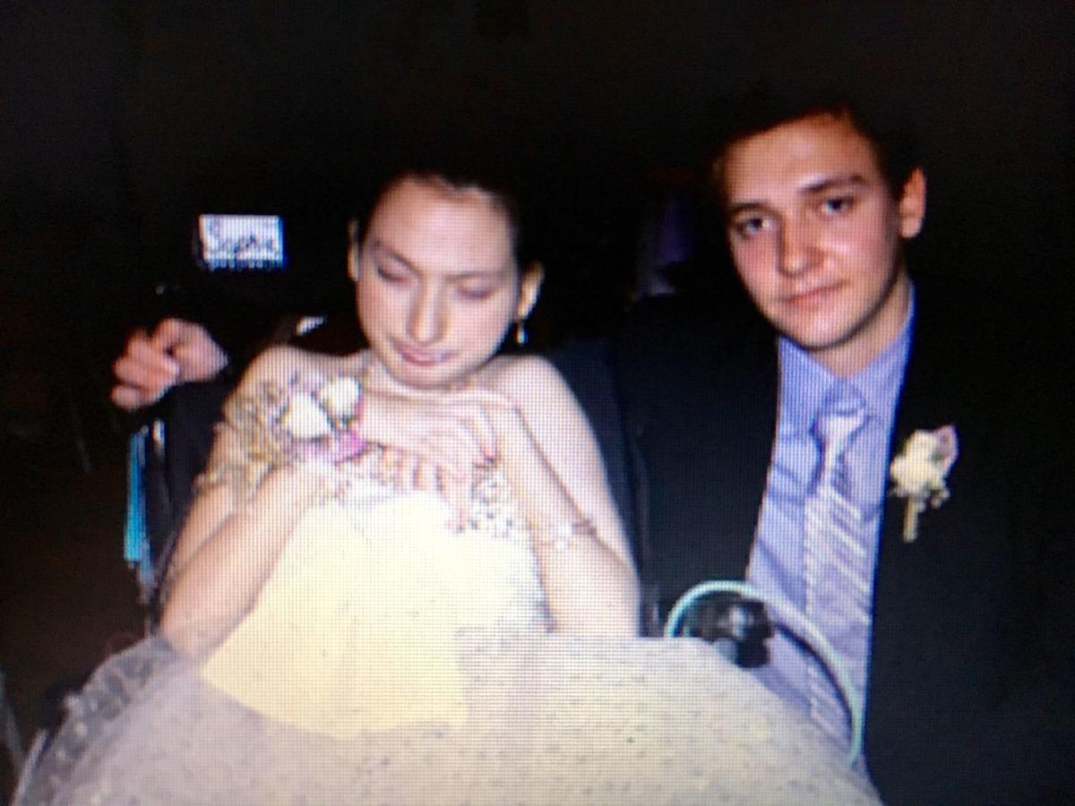 Sophia and Tommy at the dance