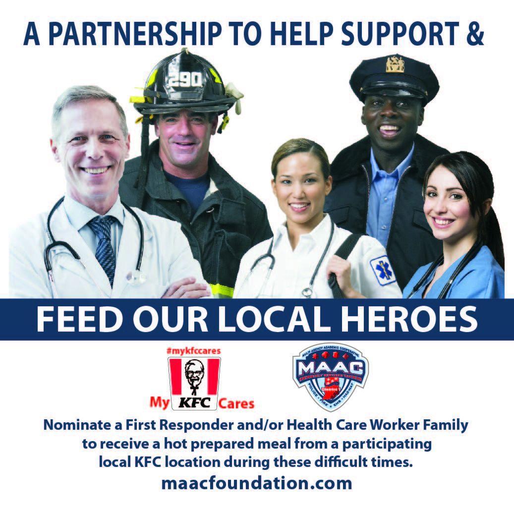 KFC Cares and MAAC Foundation Facebook Post