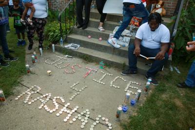 Vigil for Rashad Cunningham