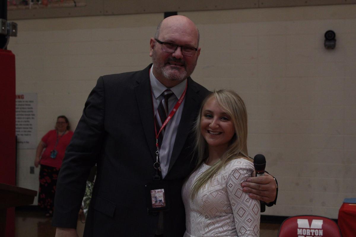 Morton High School's Skylar Petho