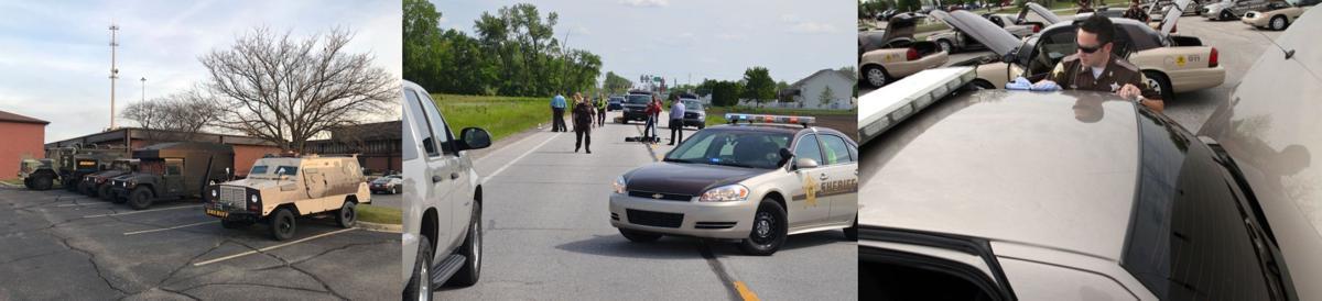 Sheriffs' police vehicles