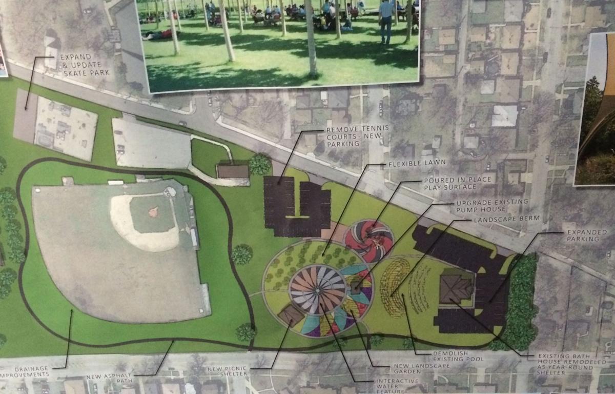 Hessville park plans