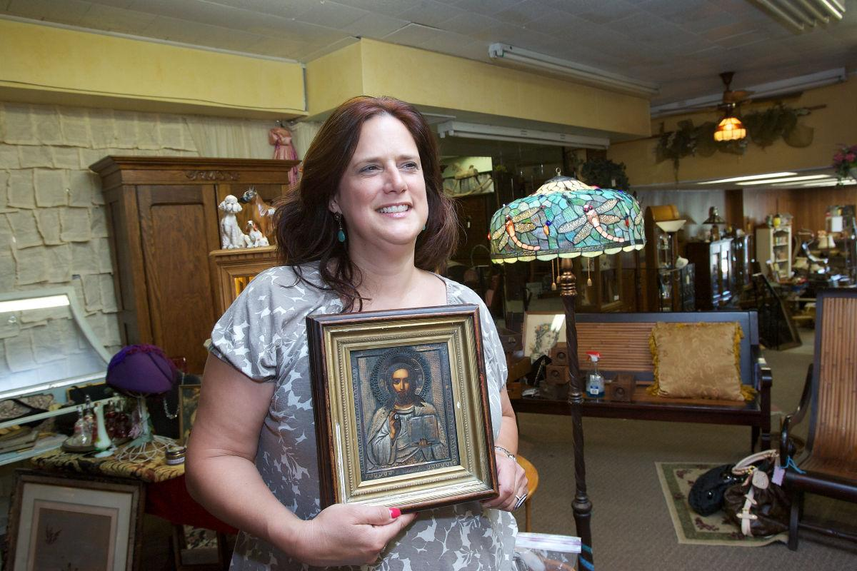 Historical downtown Lowell is a hub for antique enthusiasts