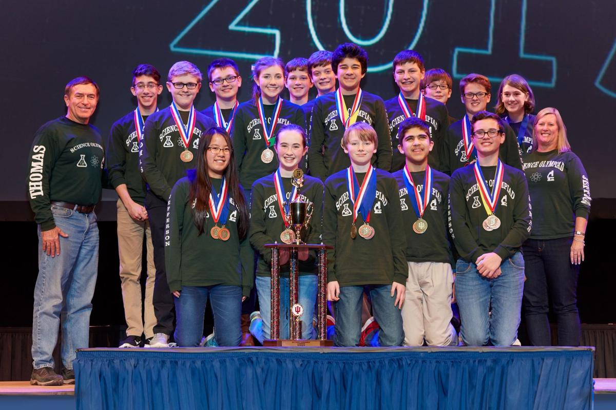 Valparaiso's TJMS takes top honors, again, in state science olympiad