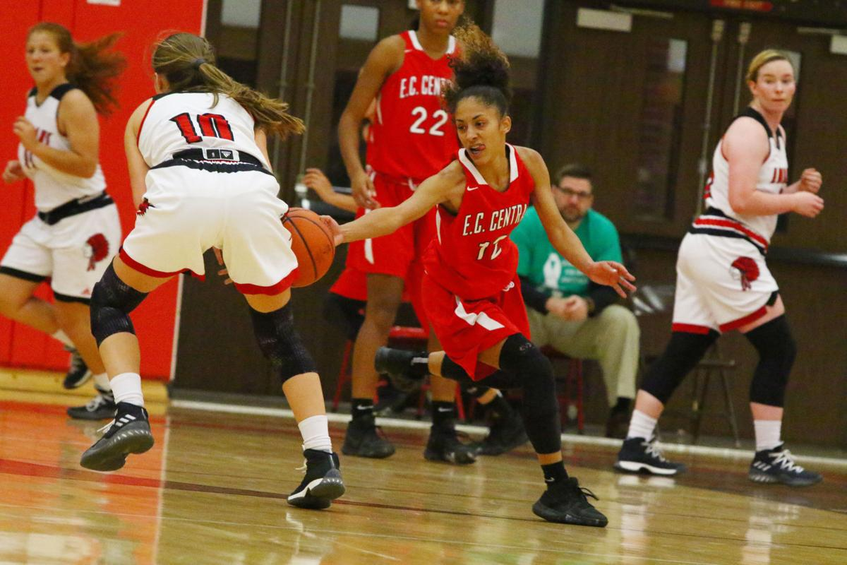 E.C. Central at Portage Girls Basketball