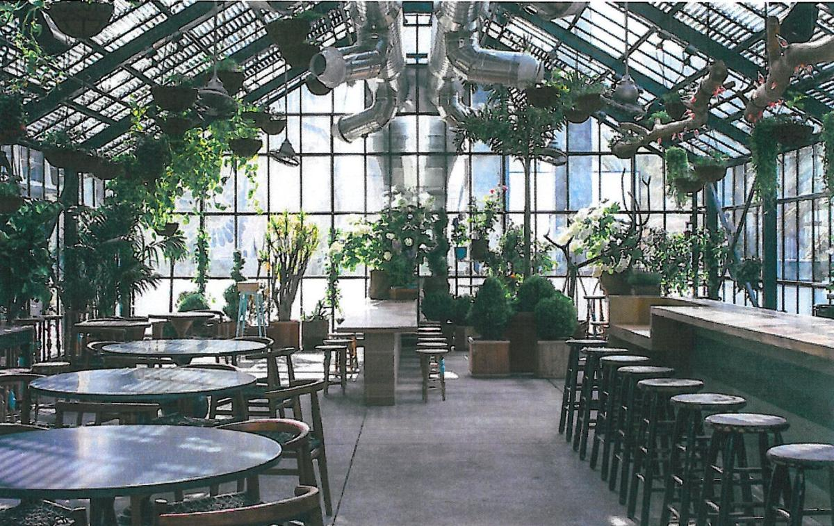 Former greenhouse to grow customers