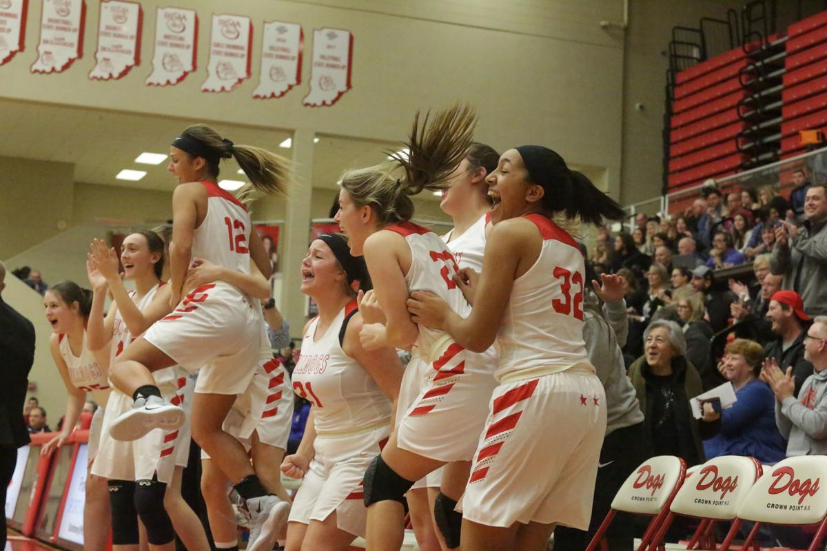 Michigan City at Crown Point girls basketball