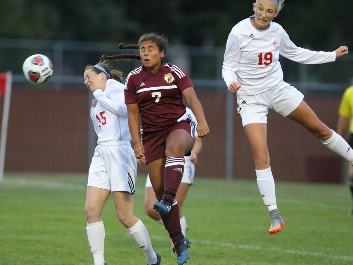 Chesterton at Crown Point girls soccer