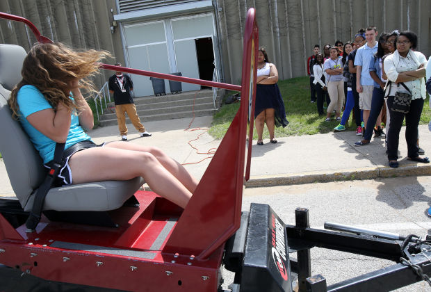 Morton students sample unsafe driving