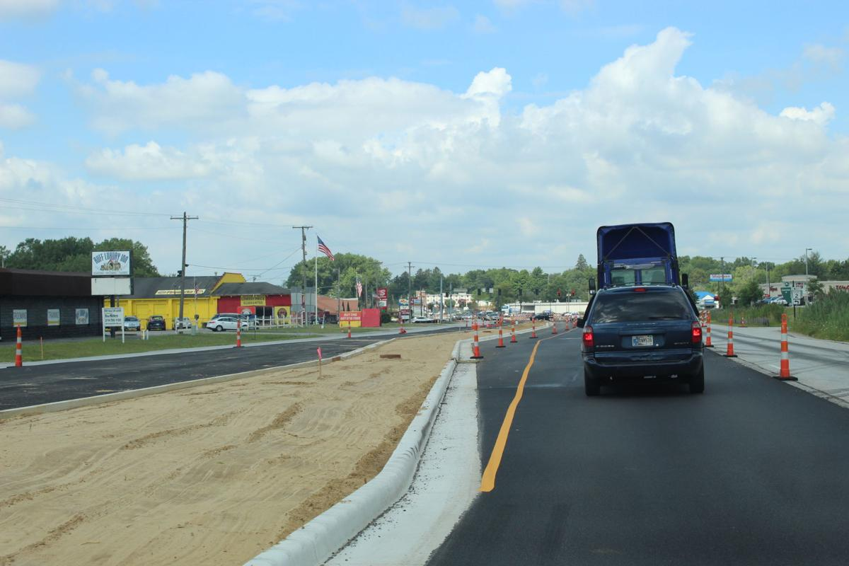 Roundabout construction continues
