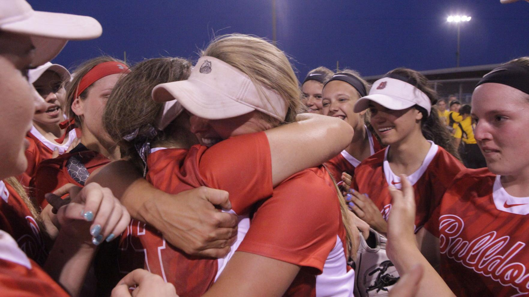 C.P. holds off Avon to win school's first softball state crown