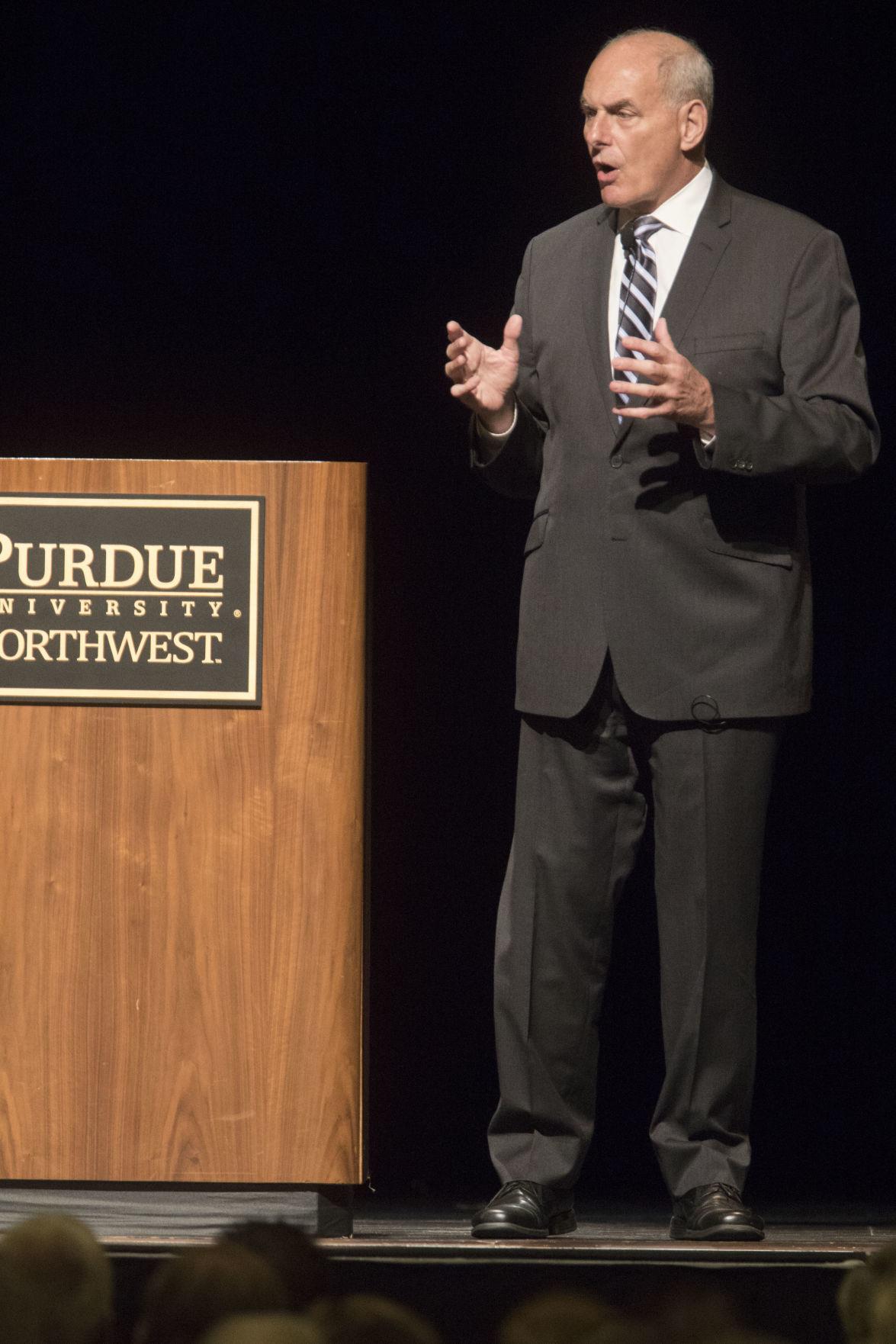 John Kelly speaks at PNW Sinai Forum