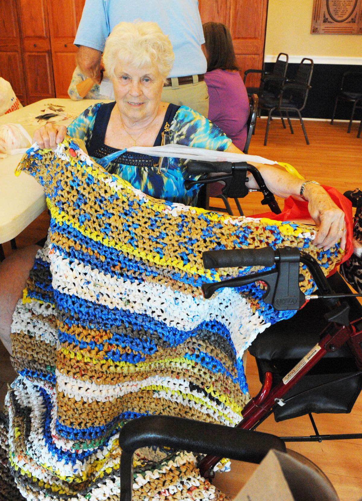New Life For Old Bags Project To Create Sleeping Mats Homeless Vets Really Takes Off