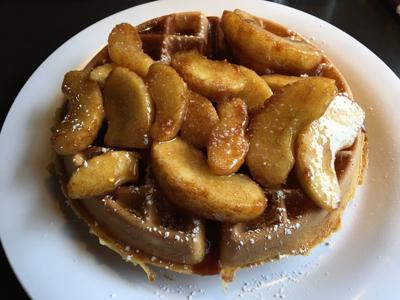 Cinnamon apple waffle.JPG