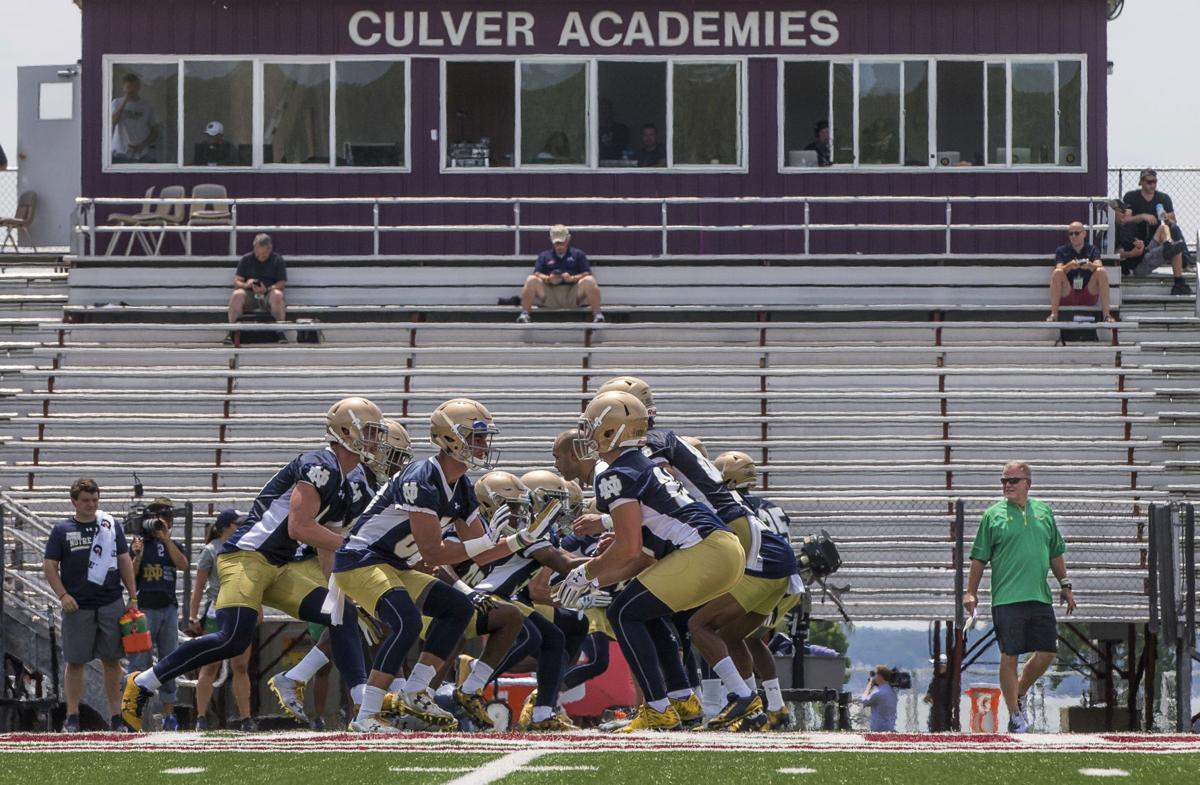 Notre Dame Football Fall Camp