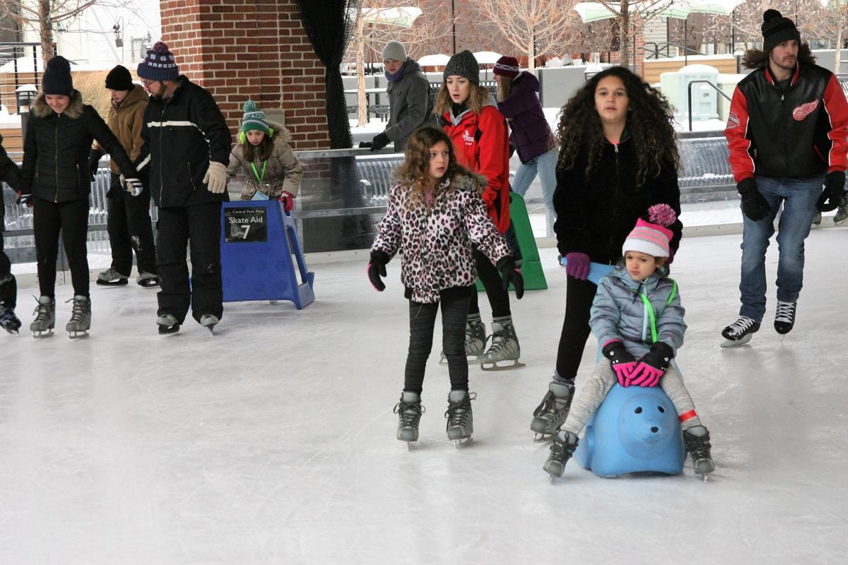Even with wintry blast, numbers up at Valpo ice rink