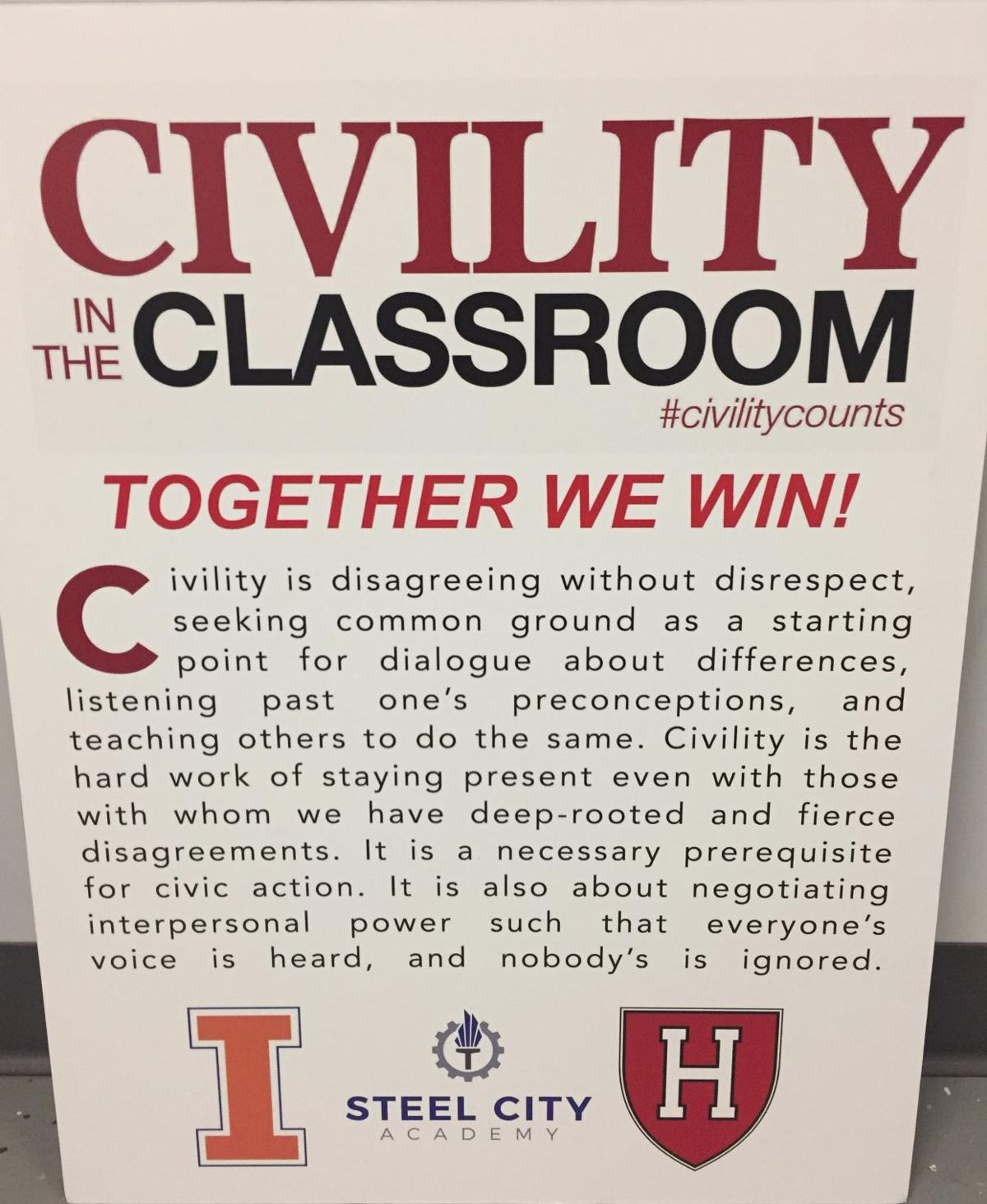 Civility in the Classroom makes its triumphant return next week