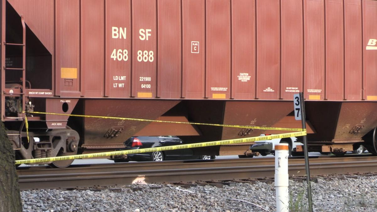 Freight Train Strikes Pedestrian
