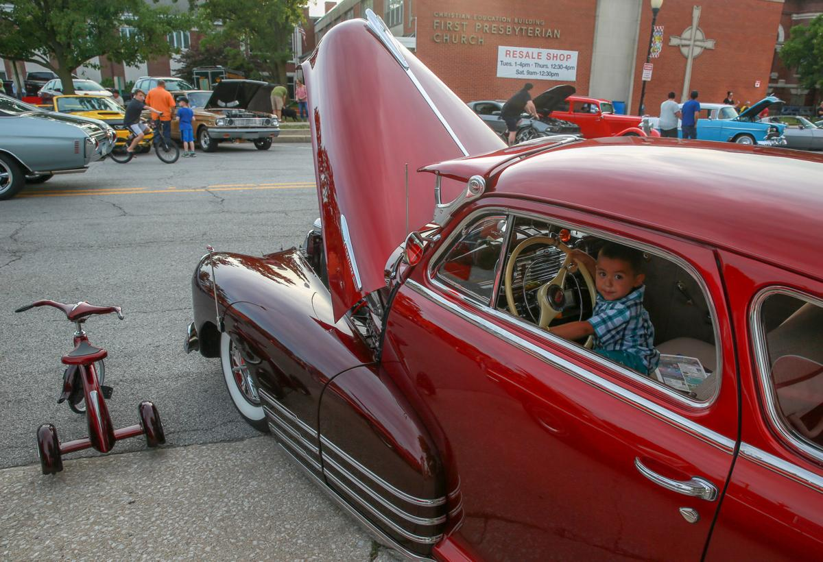Cruising Creates Camaraderie Sense Of Community Classic Cars Take - Classic car cruise