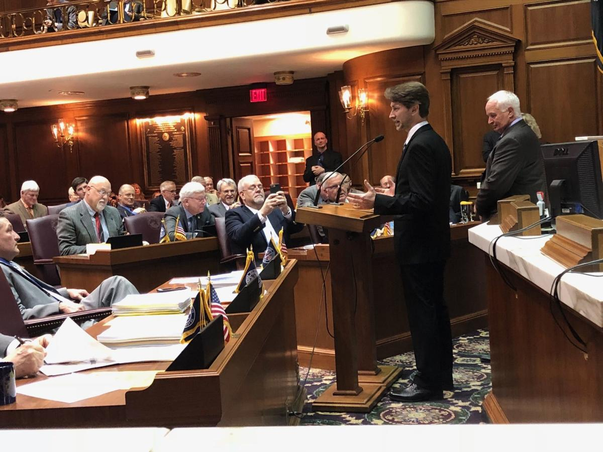 Indiana lawmakers recognize Crown Point physics teacher as best in the state