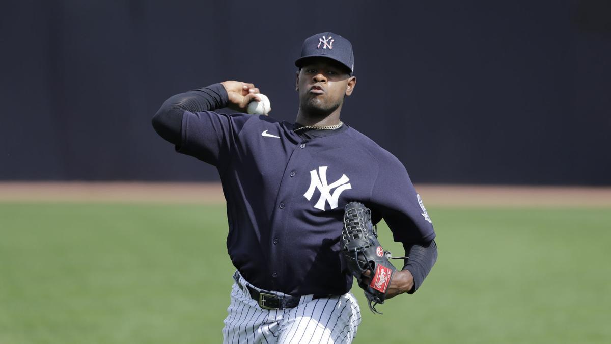 Luis Severino, Yankees Spring Baseball