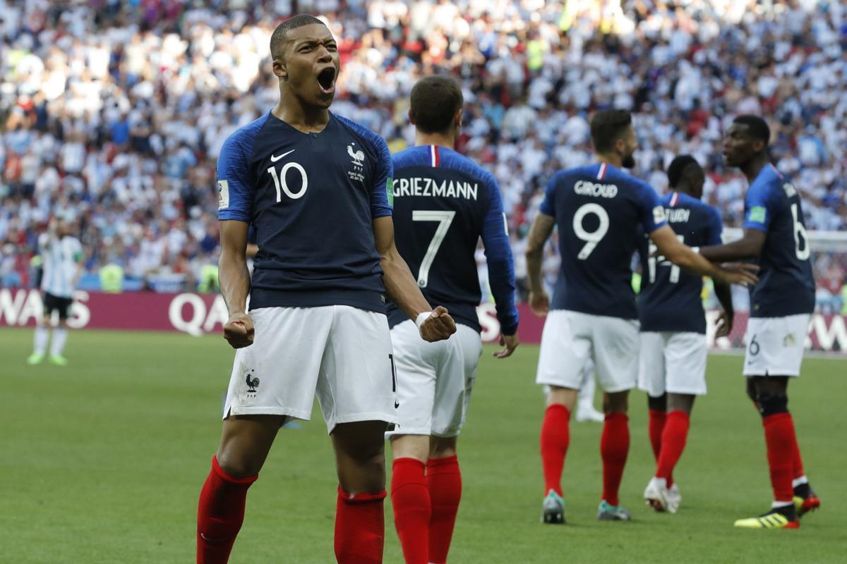 Image result for france mbappe world cup
