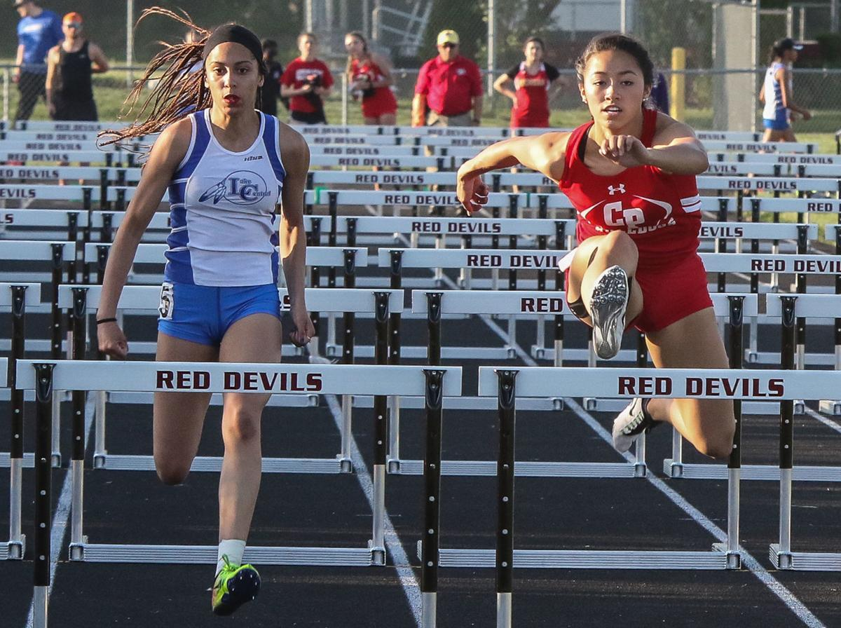 Lowell girls track sectional