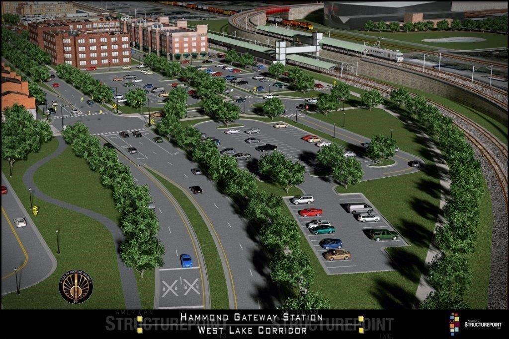 Hammond Gateway overhead