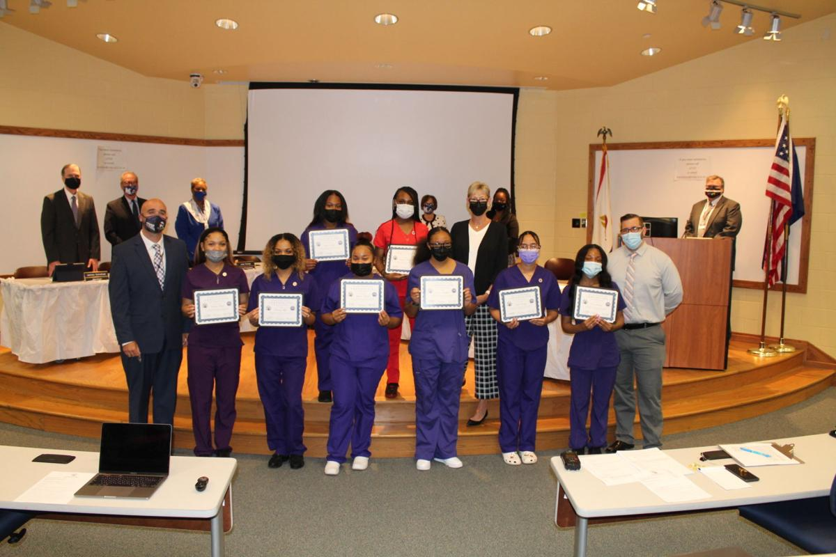 Merrillville High School students become CNAs