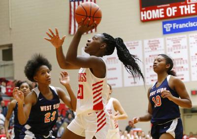 West Side at Crown Point girls basketball