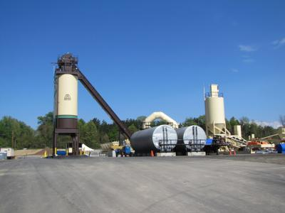 Walsh & Kelly asphalt plant